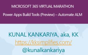 PowerApps build tools